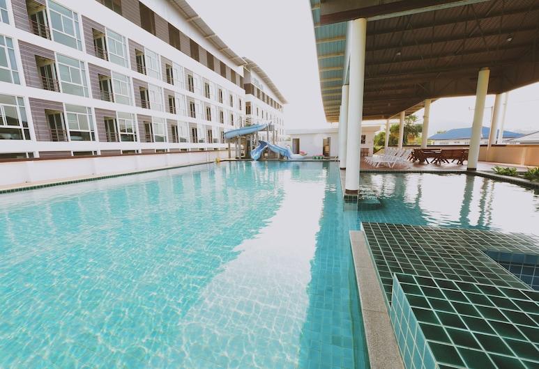 榮耀廣場酒店, Hua Hin, 室外泳池