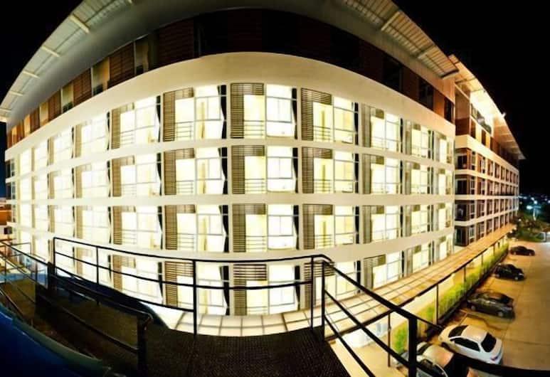 榮耀廣場酒店, Hua Hin, 酒店入口 - 夜景