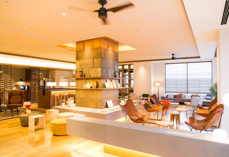 Nishitetsu Hotel Croom Hakata, Fukuoka, Vstupní prostor zevnitř
