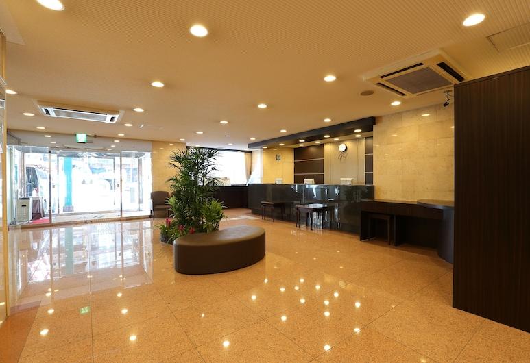 西鉄イン心斎橋, 大阪市, 内部エントランス