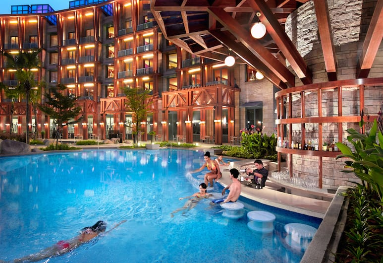Resorts World Sentosa - Hard Rock Hotel, Singapura, Kolam Renang Latihan/Lap