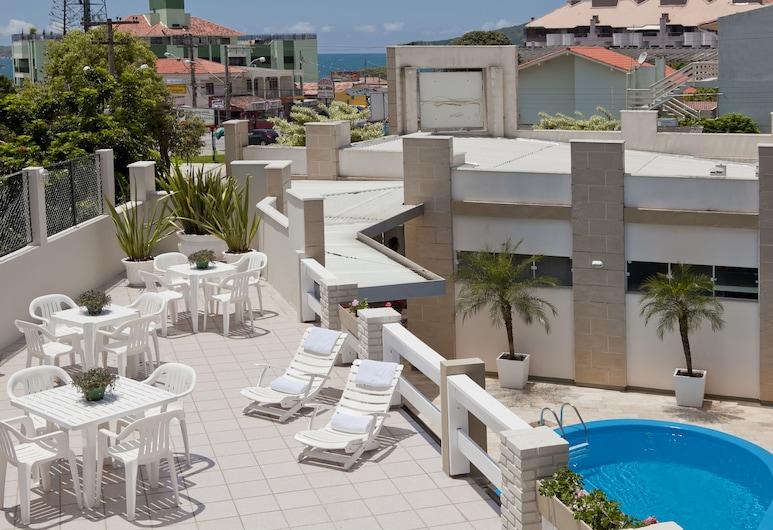Hotel Geranius Praia dos Ingleses, Florianopolis, Terrazza/Patio