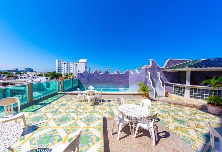 夏米酒店, 維拉克魯斯, 泳池
