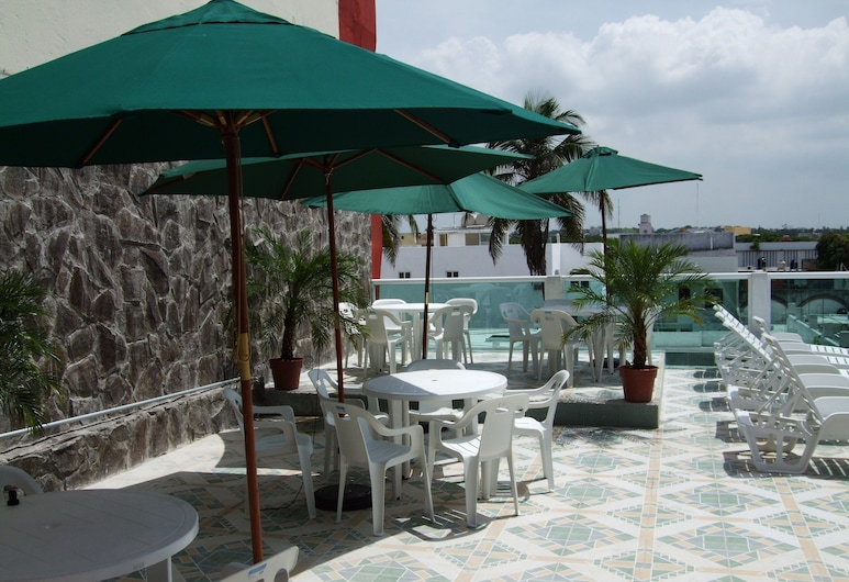 Hotel Ziami, Veracruz, Utendørsbasseng