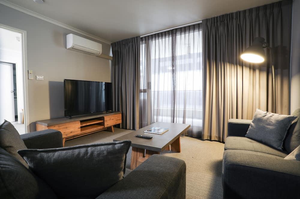 City appartement, 1 slaapkamer - Woonruimte