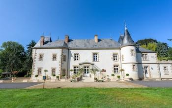 Mynd af Chateau Hotel le Boisniard í Chambretaud