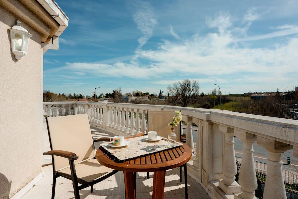 Studiolejlighed - terrasse - Terrasse/patio