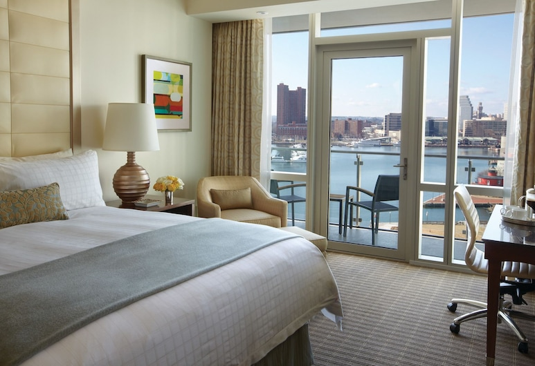 Four Seasons Hotel Baltimore, Baltimore, Luksusa numurs, 1 divguļamā karaļa gulta, skats (Lighthouse), Viesu numurs