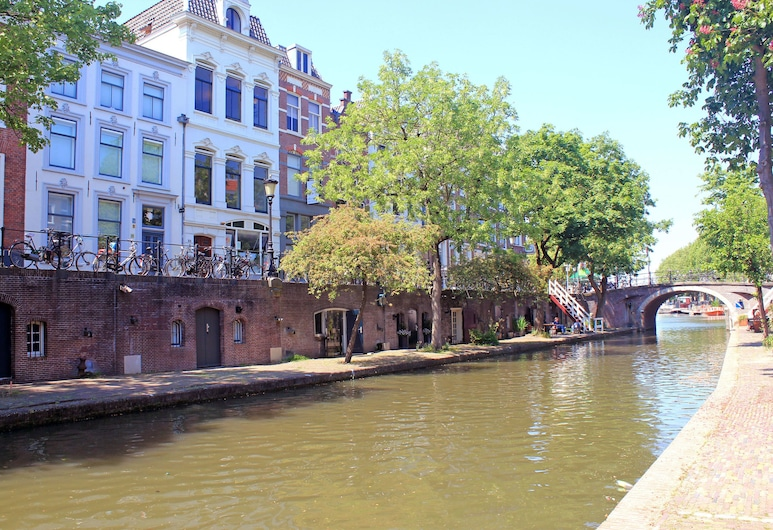 Mary K Hotel, Utrecht, Hótelframhlið