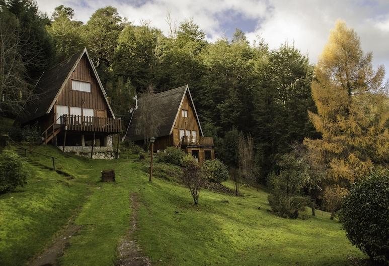 Cabañas Villa Pañil, San Carlos de Bariloche, Overnatningsstedets facade