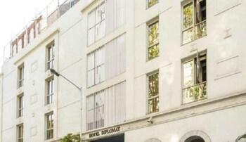 Bombay bölgesindeki Diplomat Hotel resmi
