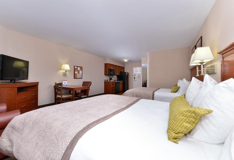 Candlewood Suites Elmira Horseheads, Horseheads, Στούντιο-Σουίτα, 2 Queen Κρεβάτια, Μη Καπνιστών, Δωμάτιο επισκεπτών