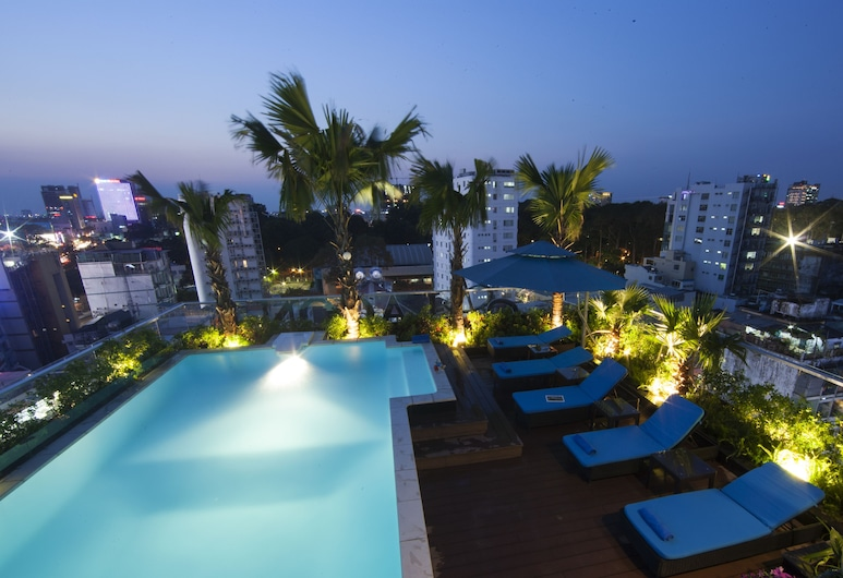 Alagon City Hotel & Spa, Πόλη του Χο Τσι Μινχ, Πισίνα στην ταράτσα