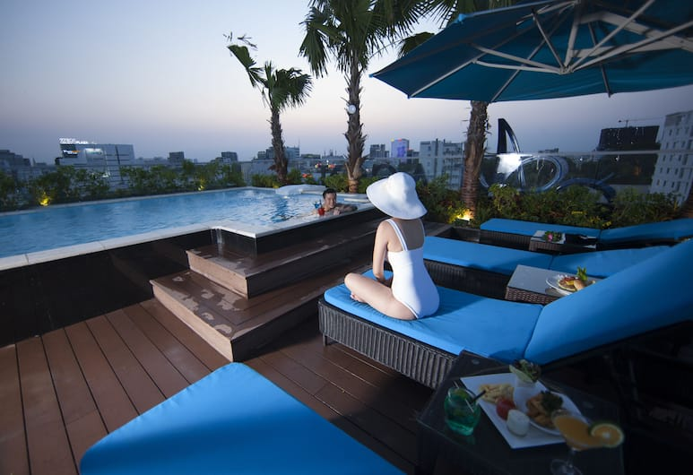Alagon City Hotel & Spa, Ho Chi Minh-Stad, Buitenzwembad