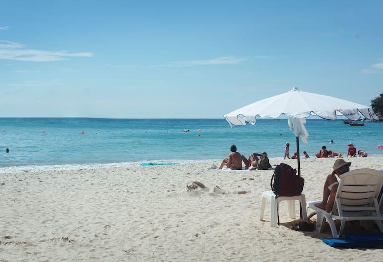 심플리텔, 카론, 해변