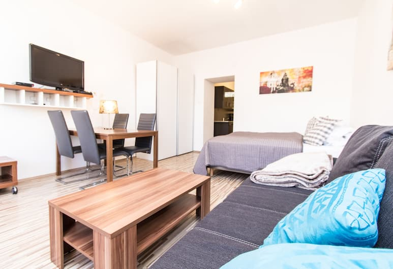 CheckVienna – Apartment Huetteldorfer Strasse, Bécs, apartman, konyha, Szoba