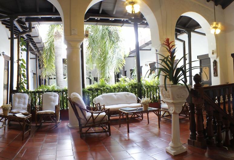 中心酒店, Cartagena, 大堂閒坐區