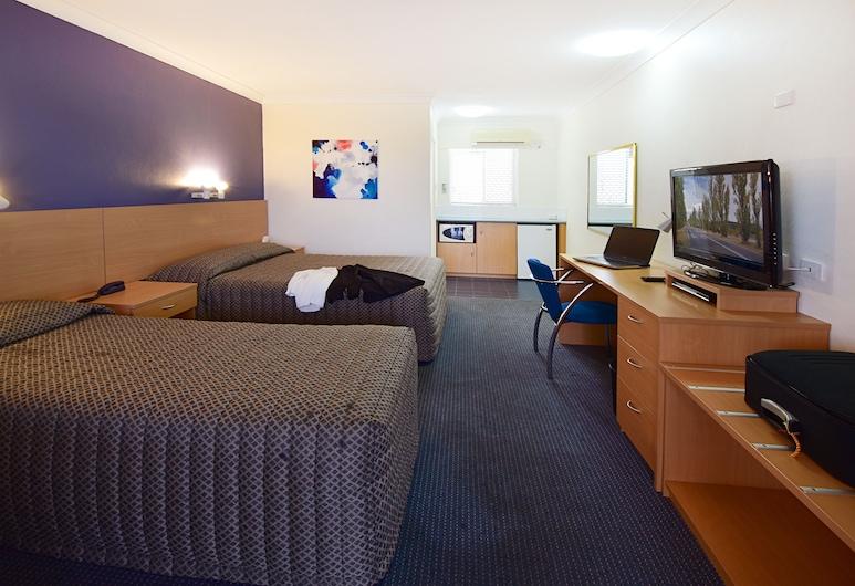 Armidale Motel, Armidale, Executive Σουίτα, 1 Υπνοδωμάτιο, Θέα στην Αυλή, Δωμάτιο επισκεπτών