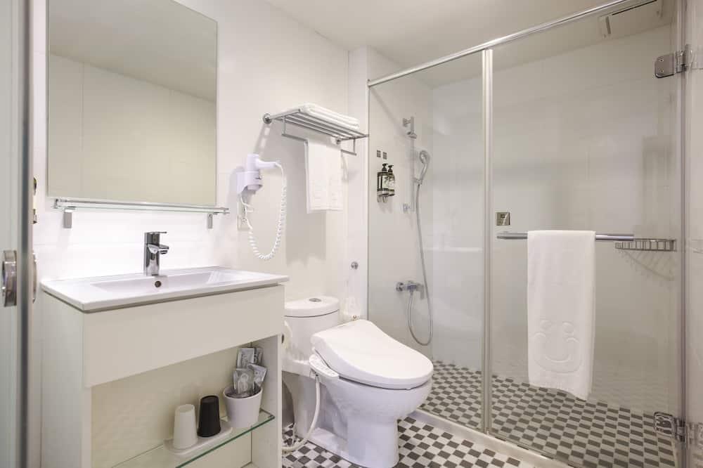 Deluxe Δίκλινο Δωμάτιο (Double), 1 Διπλό Κρεβάτι (washlet toilet) - Μπάνιο