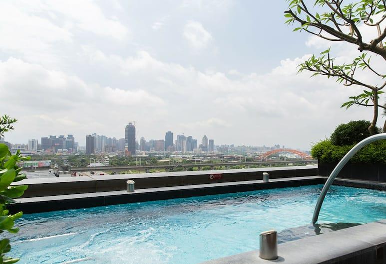 台中裕元花園酒店, 台中市, 室外 SPA 浴池