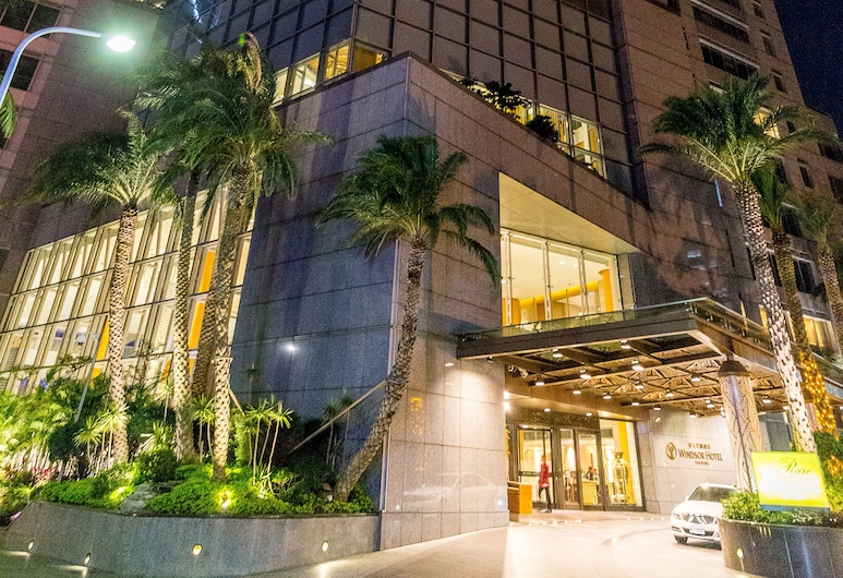 Windsor Hotel Taichung, Taichung, Hotel Front – Evening/Night