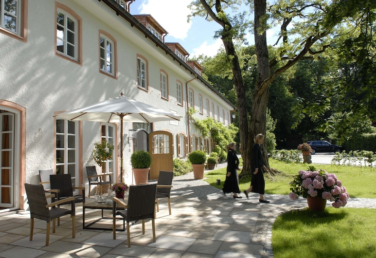 Brauereigasthof-Hotel Aying, Aying, Αίθριο/βεράντα