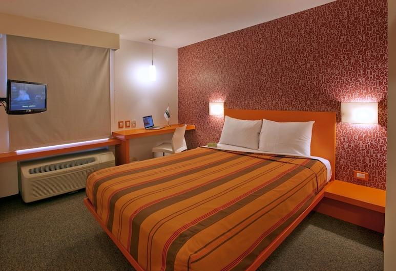City Express Junior Toluca Aeropuerto, Toluca, ห้องสแตนดาร์ด, เตียงควีนไซส์ 1 เตียง, ห้องพัก