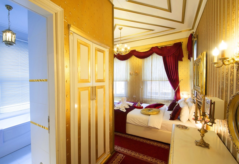Sultan Tughra Hotel, Istanbul, Deluxe Double Room, Guest Room