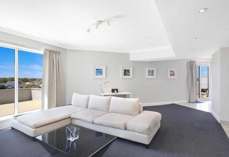 Sydney Airport Suites, Mascot, Deluxe Ρετιρέ, 2 Υπνοδωμάτια, Περιοχή καθιστικού