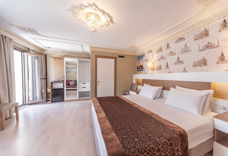 Taya Hatun Hotel, Istanbul, Dobbeltrom – deluxe, 1 soverom, ikke-røyk, Gjesterom