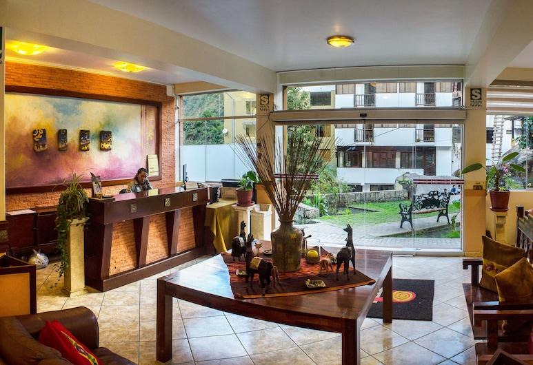 馬丘比丘塔比卡拉精品飯店, 馬丘比丘, 大廳酒廊