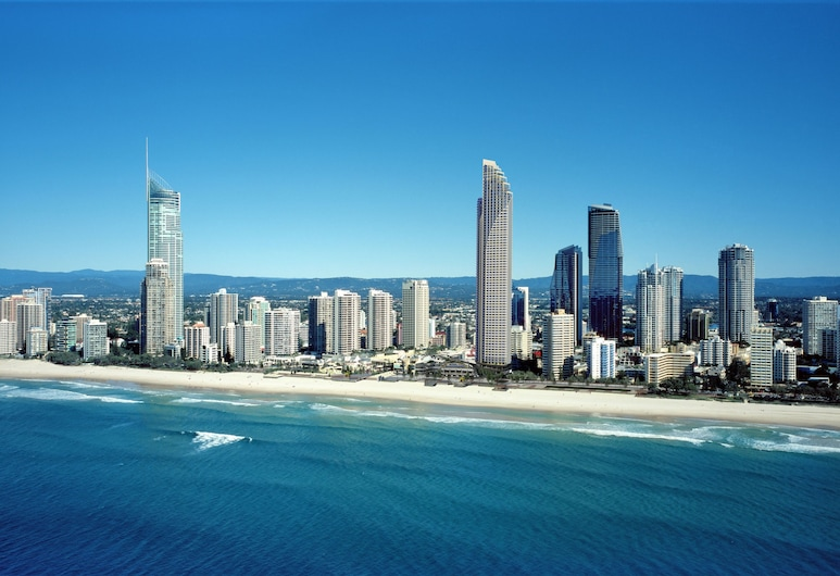 Peppers Soul Surfers Paradise, Surfers Paradise, Aerial View