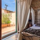 Superior-Apartment, 1 Schlafzimmer, Terrasse - Zimmer