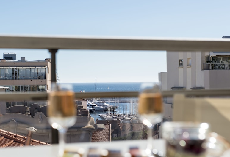 Club Maintenon, Cannes, Superior Double or Twin Room, Terrace, Terrace/Patio