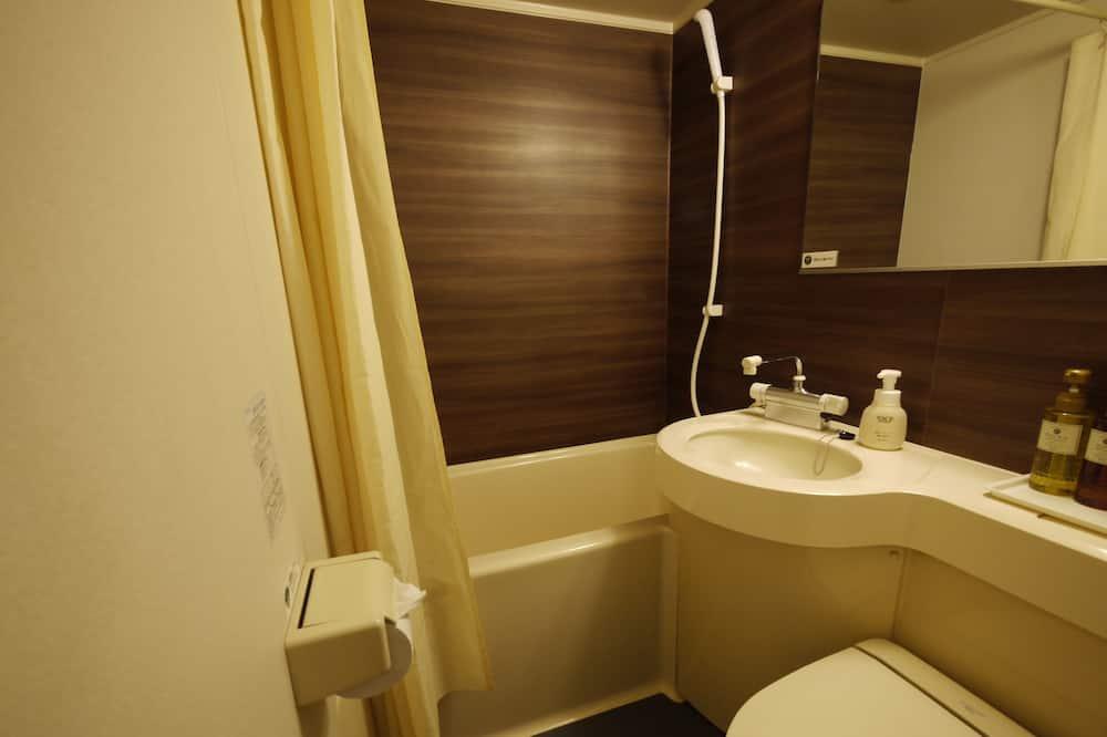 Одноместный номер, для курящих (No Cleaning Service) - Ванная комната