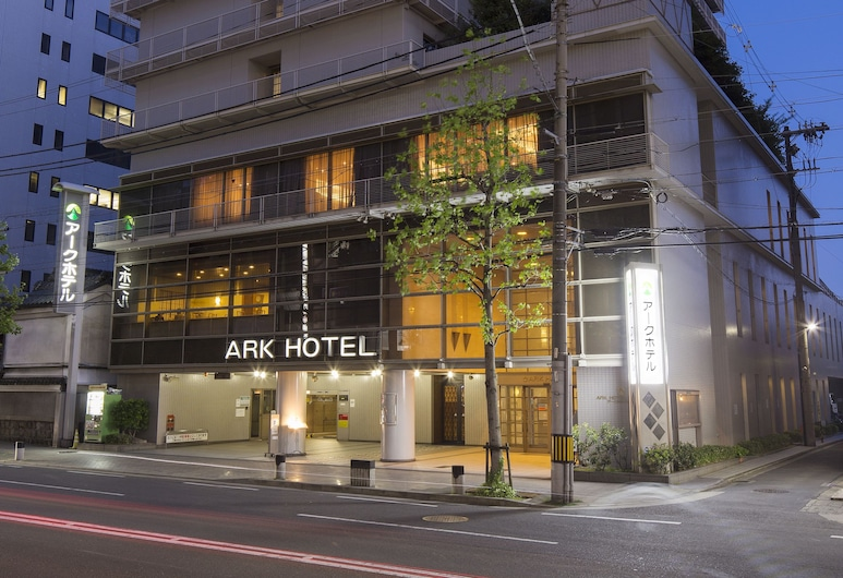 Ark Hotel Kyoto - ROUTE-INN HOTELS -, Kyoto, Hotel Front – Evening/Night