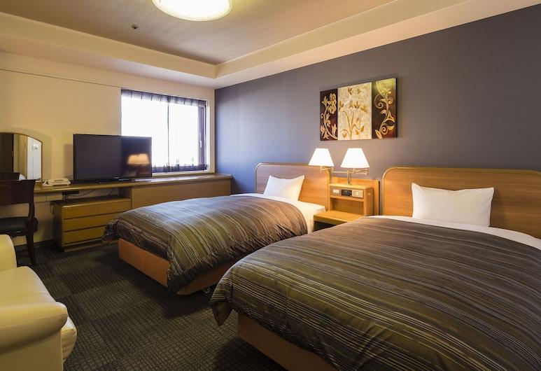 HimejiCastle Grandvrio Hotel - ROUTE-INN HOTELS -, Himeji, Standard Δίκλινο Δωμάτιο (Twin), Μη Καπνιστών, Δωμάτιο επισκεπτών