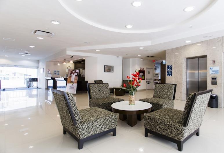 Holiday Inn Express & Suites Tuxtla Gutierrez La Marimba, Tuxtla Gutiérrez, Zitruimte lobby