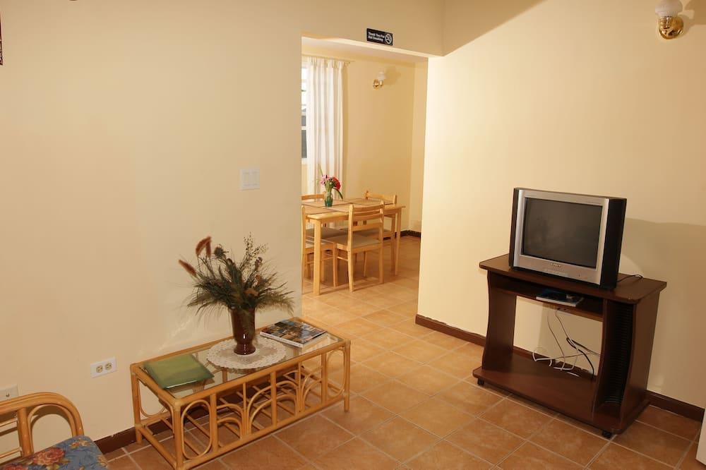 Standartinio tipo kambarys, 1 standartinė dvigulė lova, virtuvė - Svetainė