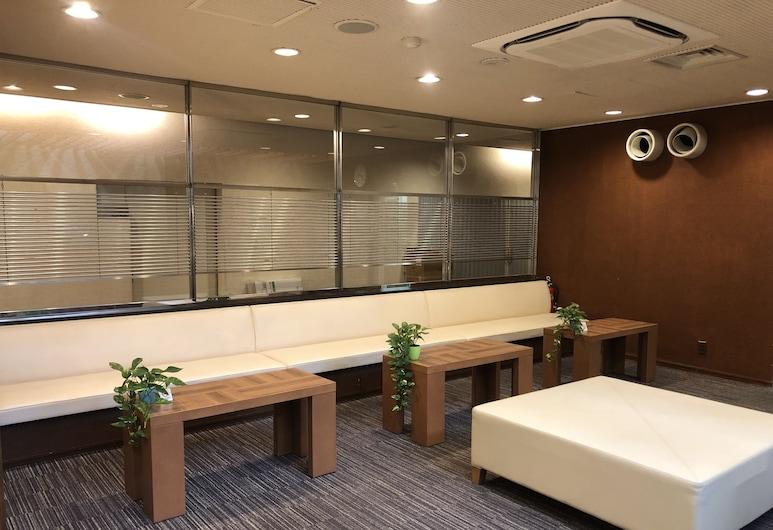 Hotel Route-Inn Shinagawa Oimachi, Tokyo, Zitruimte lobby