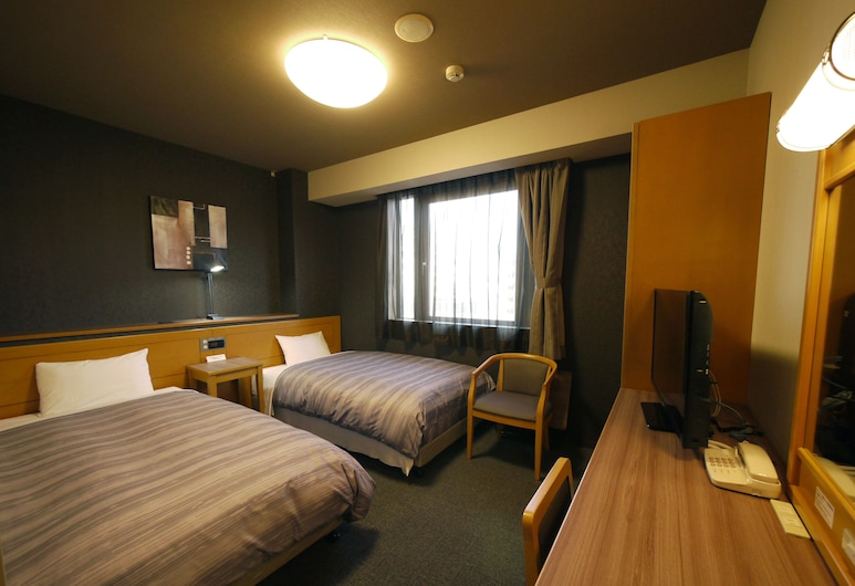 札幌奇塔約行程飯店, 札幌, 雙床房, 2 張單人床, 吸煙房, 客房