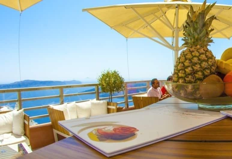 Panorama Boutique Hotel, Santorini, Outdoor Dining