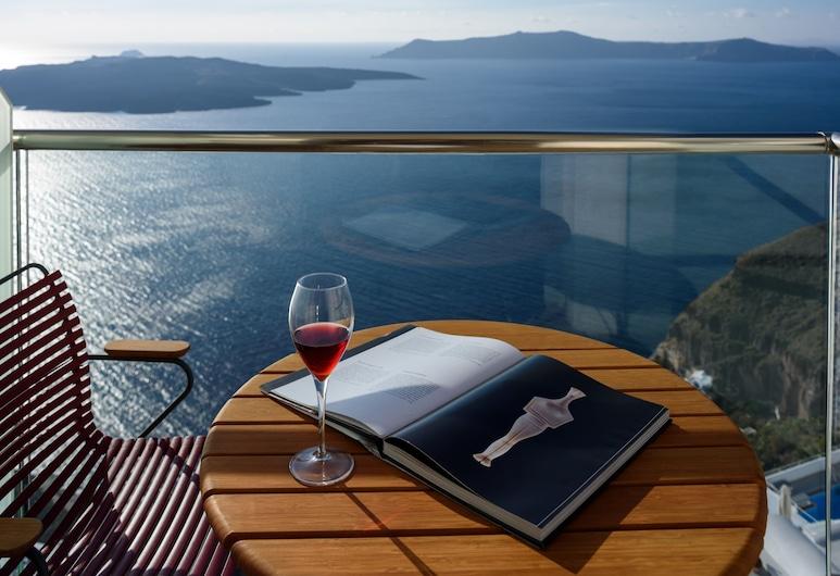 Panorama Boutique Hotel, Santorini, Quarto Standard, Vista Mar, Quarto