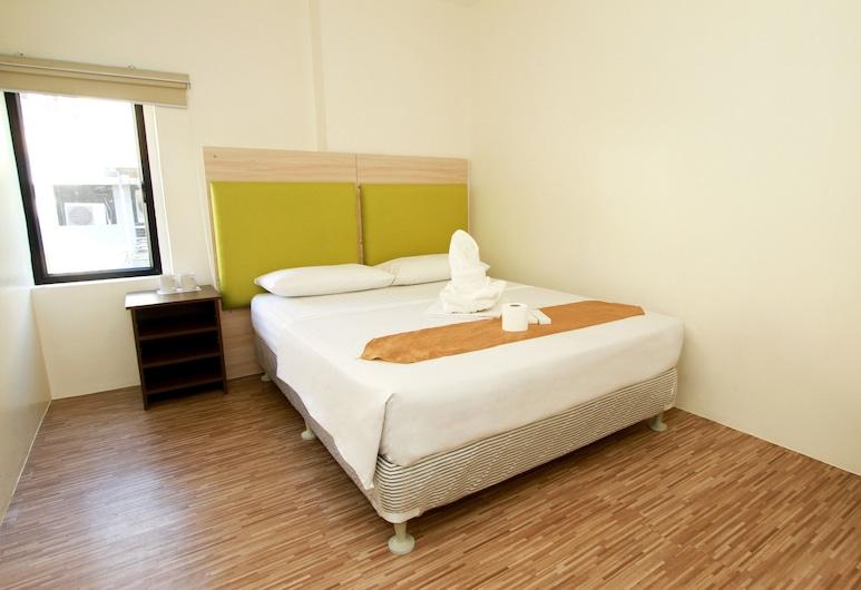 DG Budget Hotel Salem, Pasay, Standard-herbergi - 1 meðalstórt tvíbreitt rúm - einkabaðherbergi, Herbergi