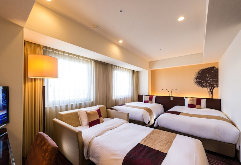 Hotel Keihan Asakusa, Tokyo, Triple Room, Smoking, Guest Room