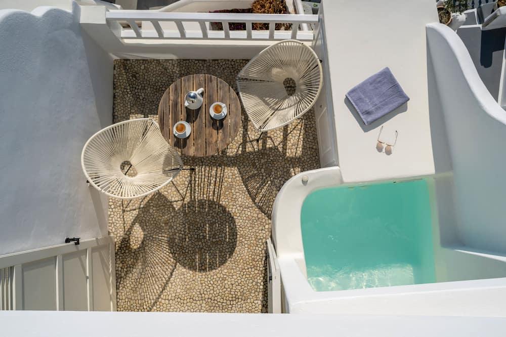 Suite Exécutive, bain à remous (Caldera View) - Bain à remous privé