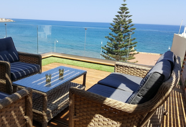 Petra Beach Hotel, Hersonissos, Junior Penthouse, Terrace, Sea View, Guest Room