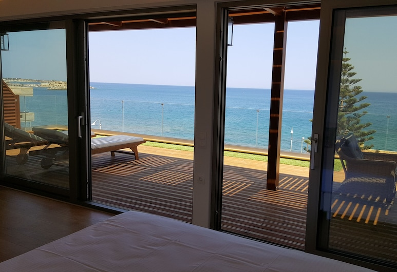 بيترا بيتش هوتل, هيرسونيسوس, بنتهاوس جونيور - بشرفة - بمنظر للبحر, غرفة نزلاء