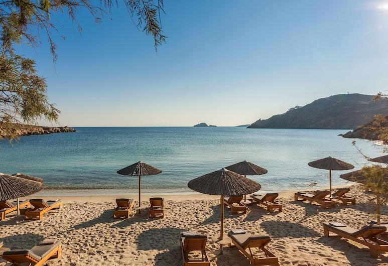 Casa Del Mar Mykonos Seaside Resort, Mikona, Pludmale