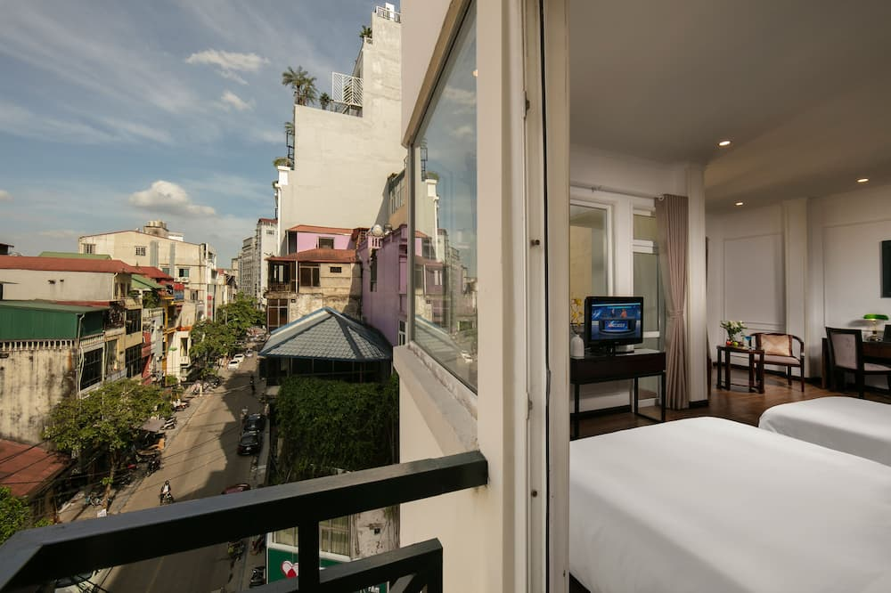 Grand Suite Double or Twin with Balcony - Balcony View